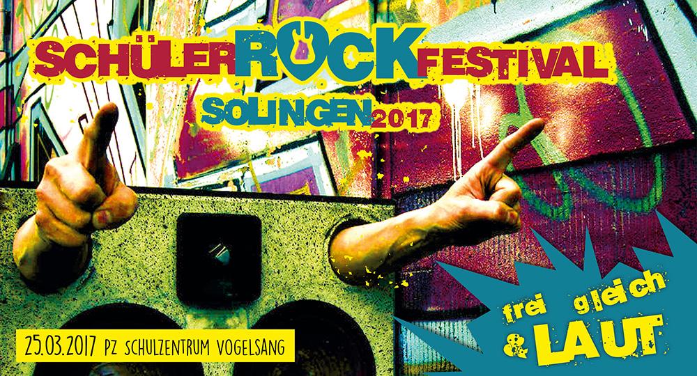 Schülerrockfestival Solingen 2017