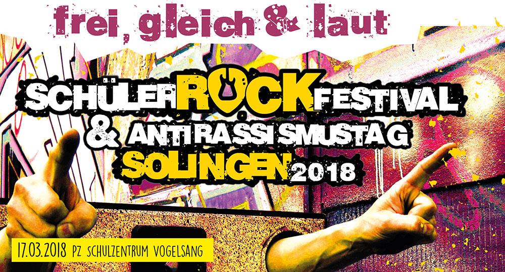 Schülerrockfestival Solingen 2018